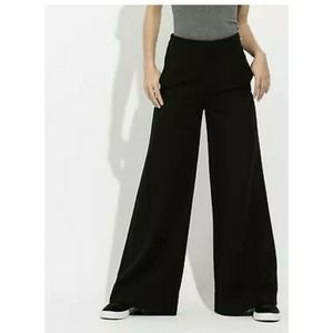 Kit and Ace Wide Leg Genevieve High Waist Trouser